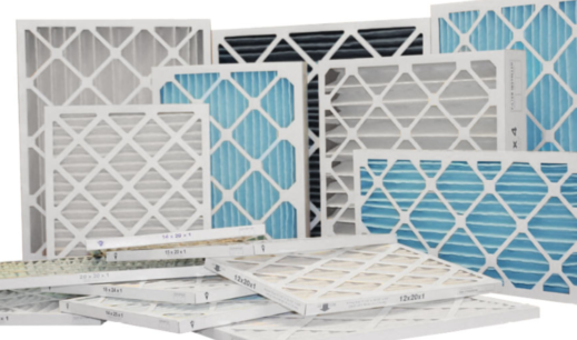 different air filter sizes and types