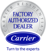 Carrier<sup>®</sup> Factory Authorized Dealer